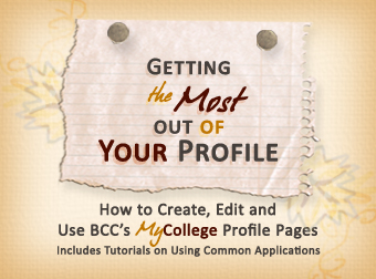 Getting the Most out of Your Profile